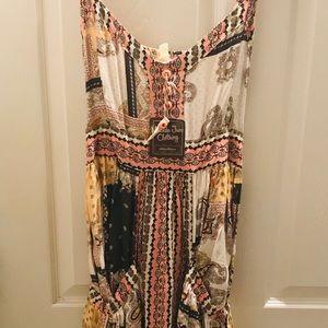 Matilda Jane 💕 print maxi dress, NWT (XL)